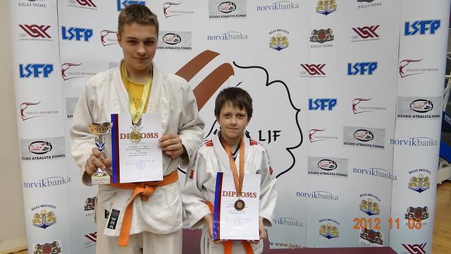 Iš kairės Gintautas Gaučys ir Osvaldas Urbonas