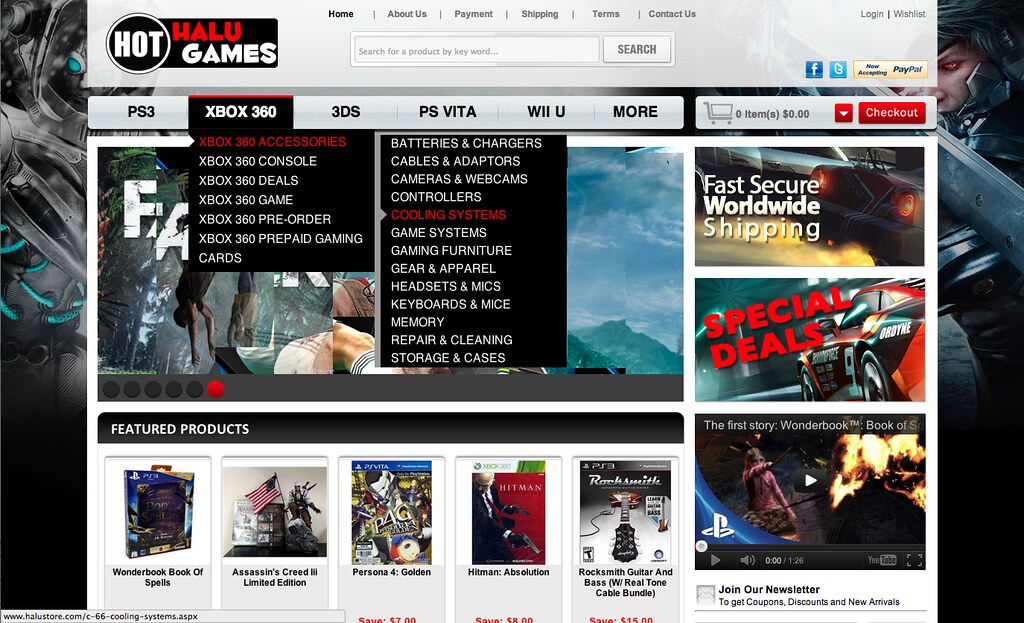 Halu Games Store | Channel Advisor Premium store