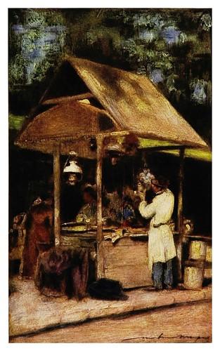 016- En la fiesta de Neuilly-Paris (1909)-Mortimer Menpes