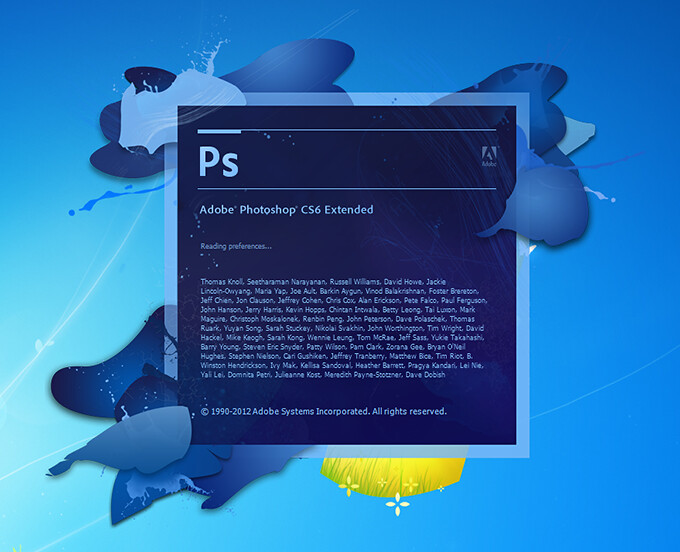 Photoshop CS6 Extended Edition (2011) (32&64bit) Full Crack