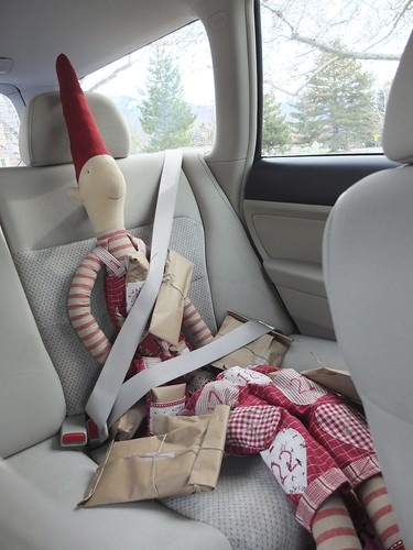 Elves buckle up, always.