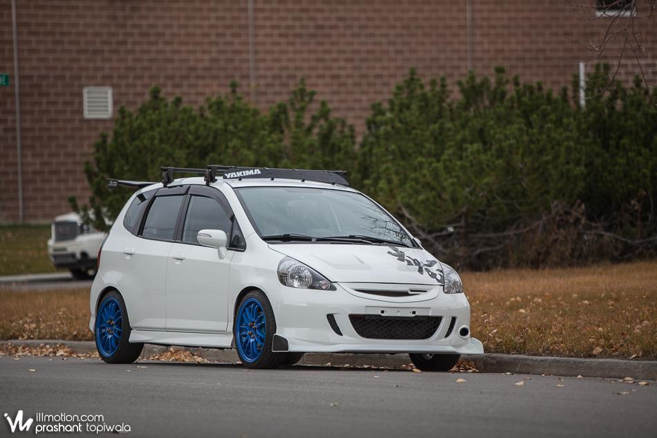 Jdm Honda Fit 1.5s Front