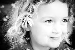 [フリー画像素材] 人物, 子供 - 女の子, モノクロ, アメリカ人 ID:201212081200