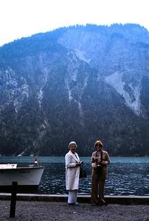 Austria   -  Plansee   -   Aunt Mimi & Me   -   July 1978