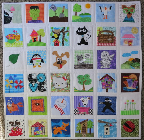 Bitty Block Doll Quilt