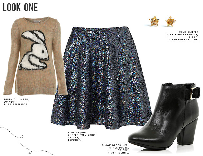 daisybutter - UK Style and Fashion Blog: ways to wear, how to wear sequins, AW12, how to wear sequins in the day, day to night looks
