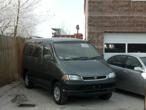 1997 Toyota HiAce Granvia van