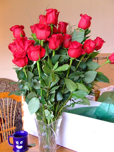 25 roses for 25 Christmases