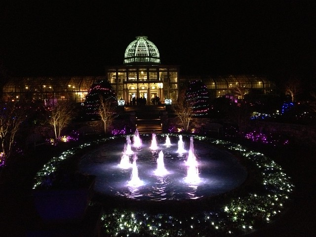 Garden Fest Of Lights Lewis Ginter Botanical Garden 12 4 2 Flickr Photo Sharing