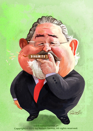 Isaltino Morais by caricaturas