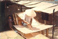 QUI NHON 1968 - Making Rice Cakes