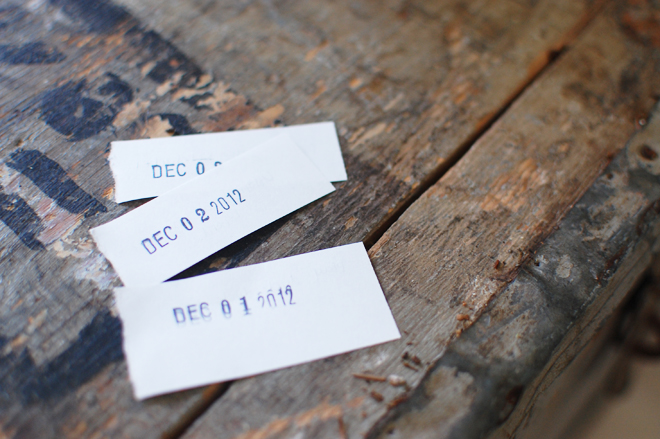 DIY: tear-it-out advent