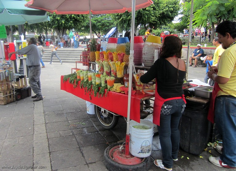 Fruit Vendor, Guadlajara