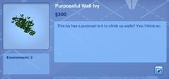 Purposeful Wall Ivy