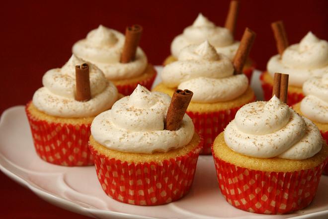 eggnog cupcakes 3