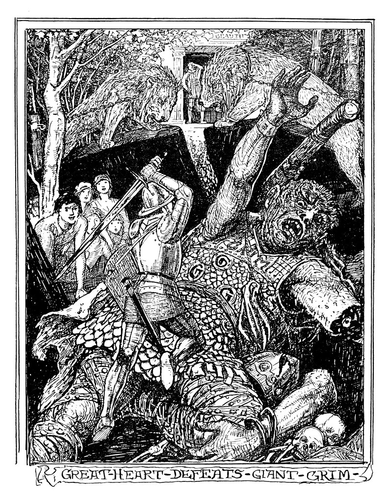 Henry Justice Ford - The pilgrim's progress by John Bunyan ; an edition for children arranged by Jean Marian Matthew, 1922 (illustration 4)