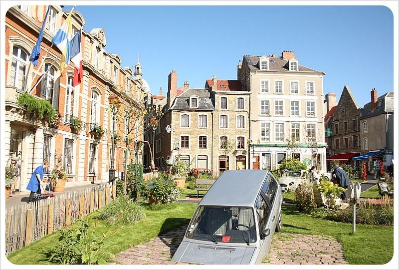 boulogne-sur-mer town square