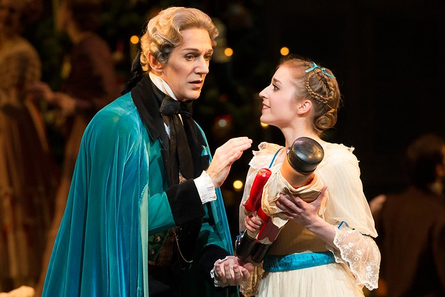 Gary Avis and Meaghan Grace Hinkis in The Nutcracker © ROH/Bill Cooper 2012