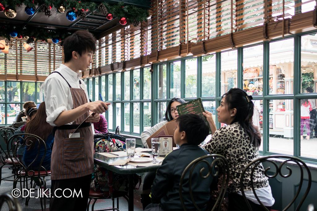 Corner Cafe - taking orders