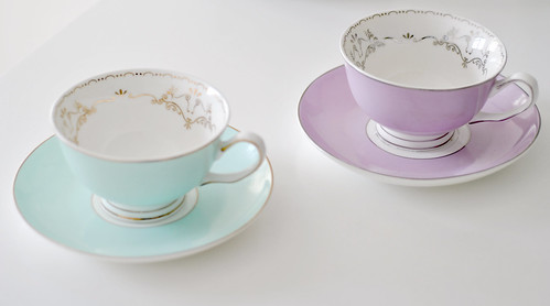 Miss Darcy tea cups