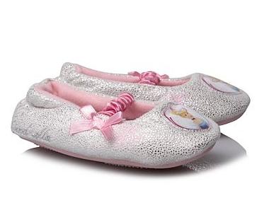 Cinderella Sparkle Slippers for Girls