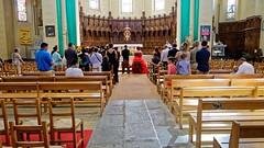 Une cérémonie en l'Eglise de Chavagnes-en-Paillers