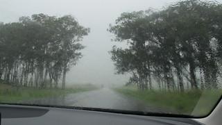 Regen in Waimea