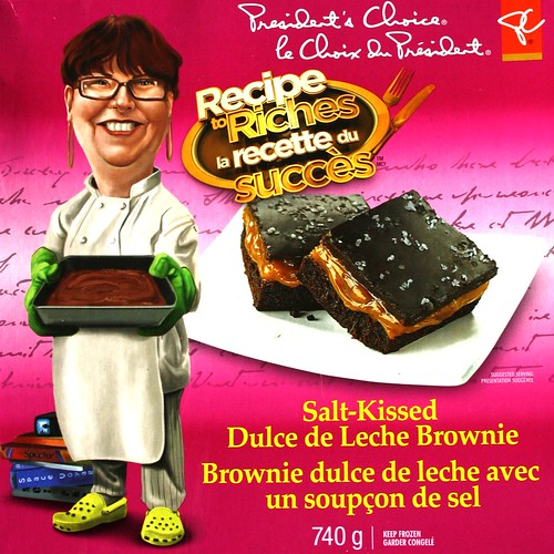 PC & Recipe to Riches Salt-Kissed Dulce de Leche Brownie