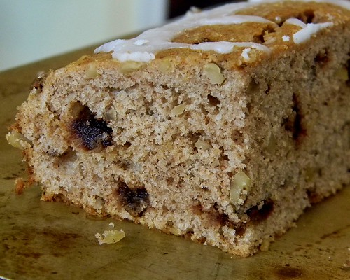 Cinnamon - Walnut Coffee Cake