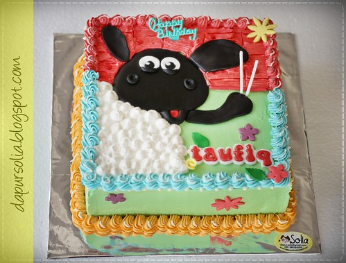 Timmy Time Birthday Cake for Taufiq