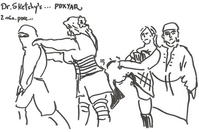 PDXYAR Dr Sketchy's