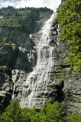 Waterfall Lauterbrunnen Valley