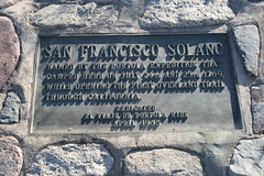 San Francisco Solano plaque