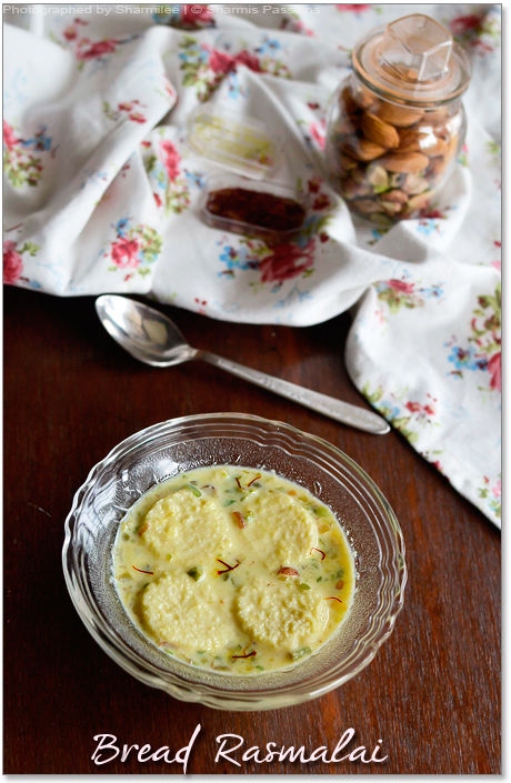 Bread Rasmalai Recipe