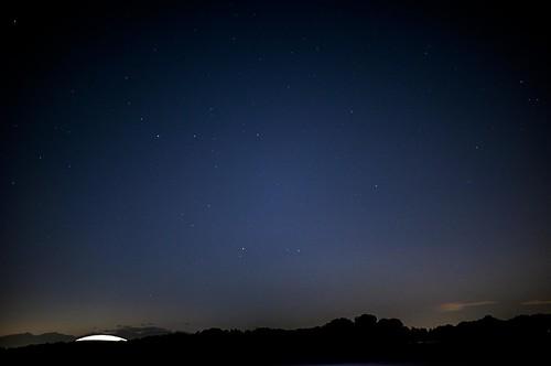 星と西武ドーム