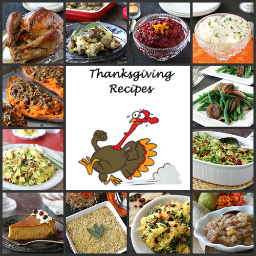 Thanksgiving Recipes: Turkey, Side Dishes & Dessert