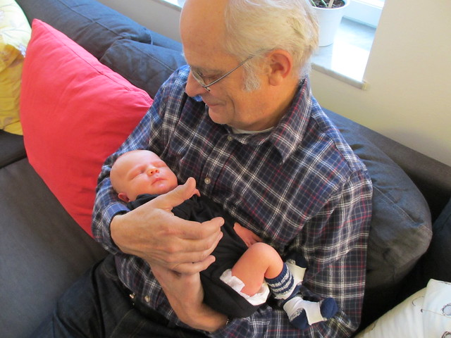 Sander och morfar