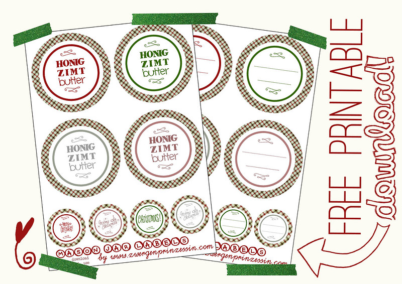 download mason jar labels