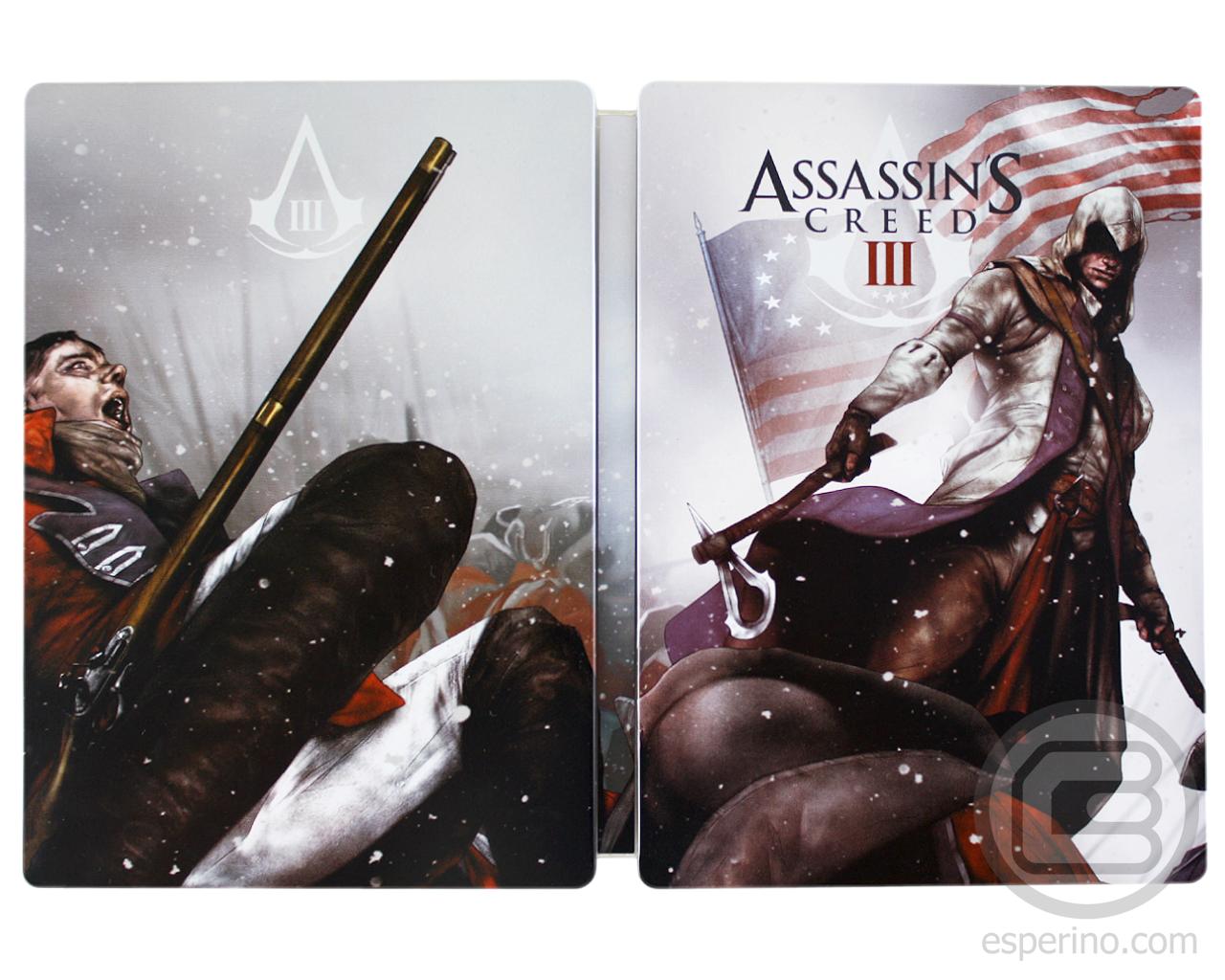 Assassin's Creed III Steelbook Unboxing