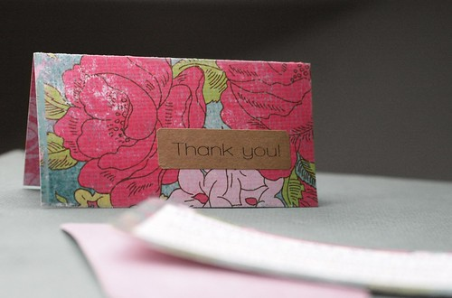 Thank You Card & Business Card Set