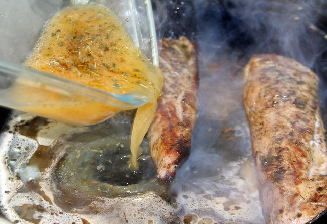 Solomillo en Salsa de Cítricos 133