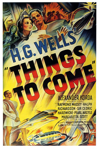 British poster for Things To Come by paul.malon