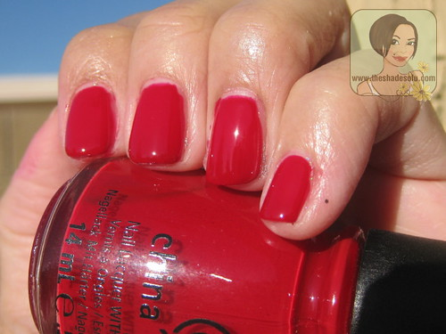 China Glaze Holiday 2012