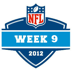 2012-13 NFL Week 9 Logo