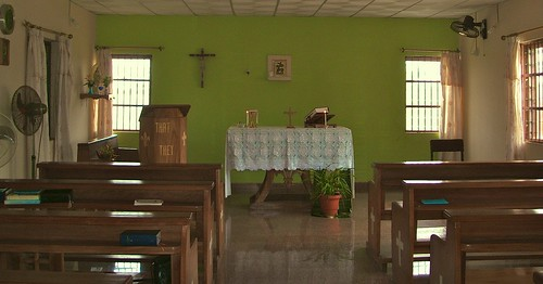 The chapel at the Abbé Louis Bautain Retreat, Conference and Catechetical Centre, Ijebu Itele