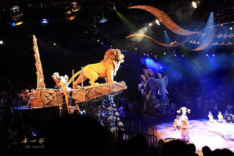 [香港迪士尼樂園] 探險世界之獅子王慶典歌舞劇|泰山樹屋HD MV