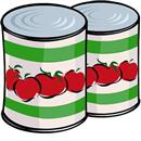 canned food tomatoes