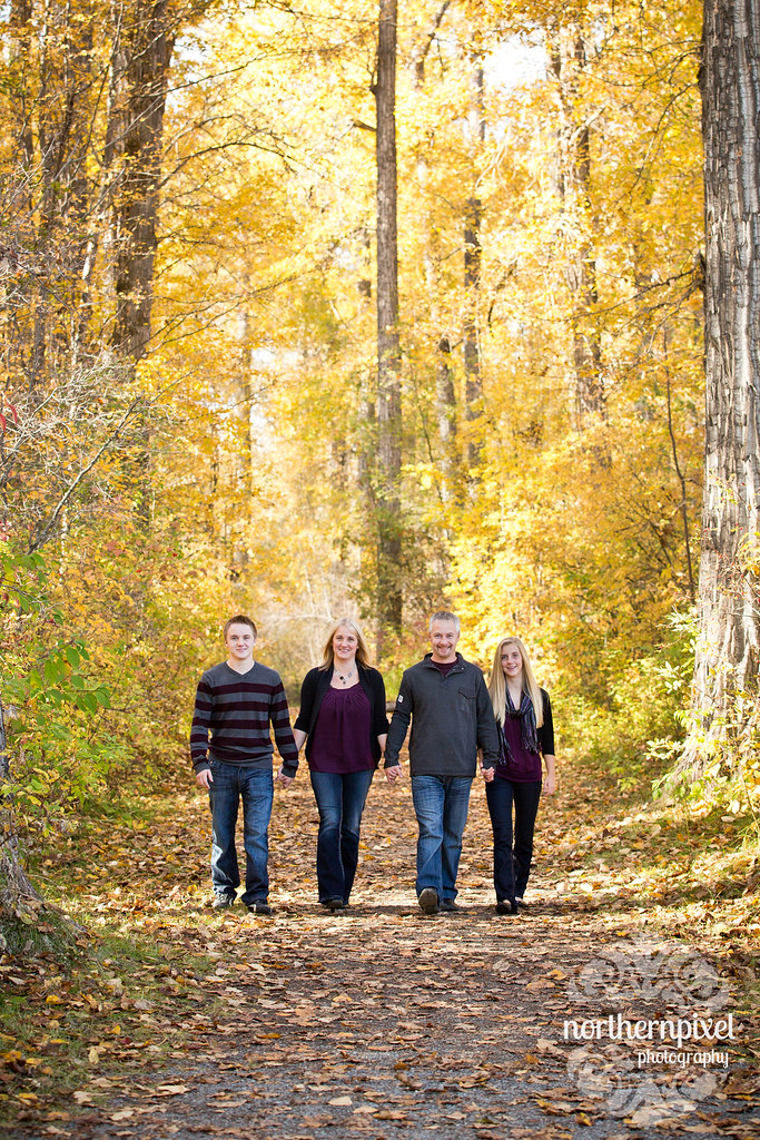 Fall Family Photos Cottonwood Island Park