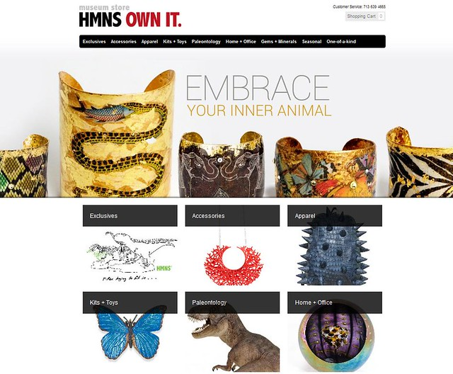 The HMNS Museum Store has a new address online