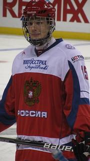 Valeri Nichushkin aims to win the Calder Trophy next season. (Ice_Hali24/Creative Commons)